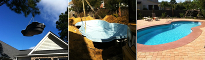 Summerville fiberglass pools