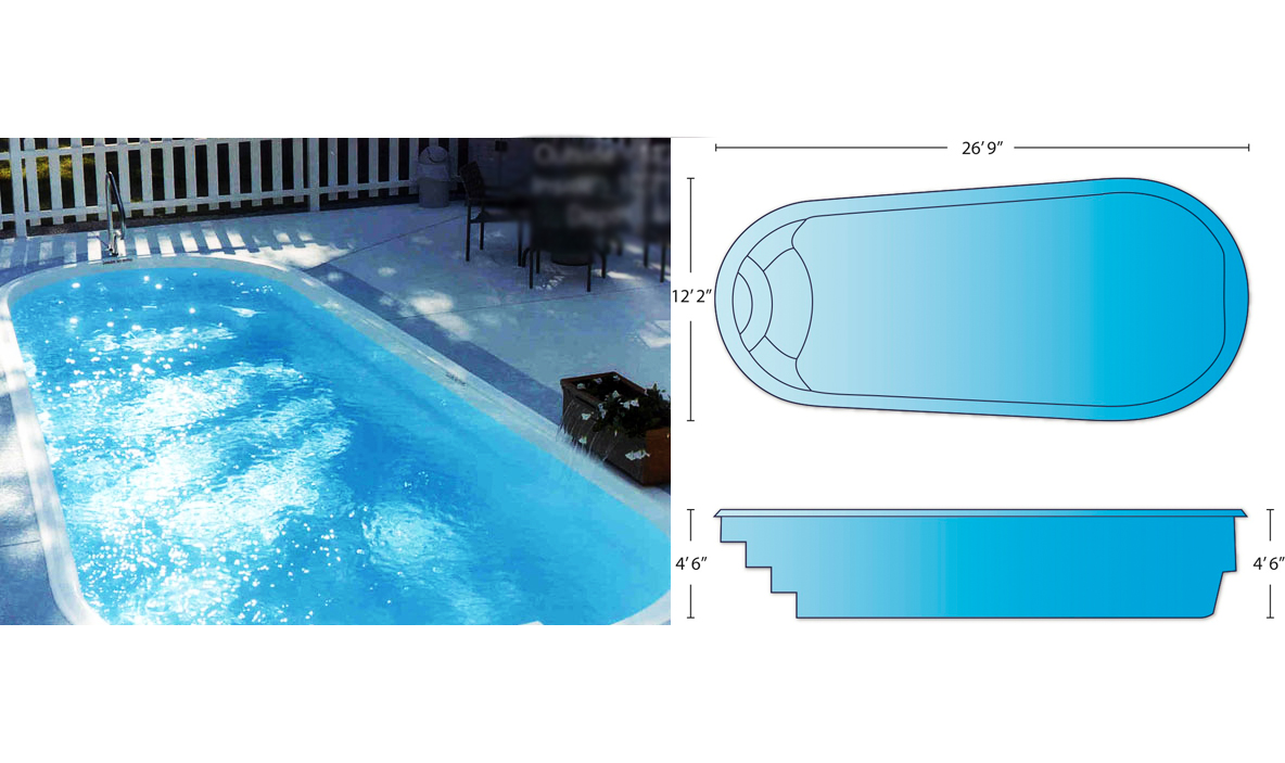 Pool Shapes Sizes | Charleston Swimming Pool Company